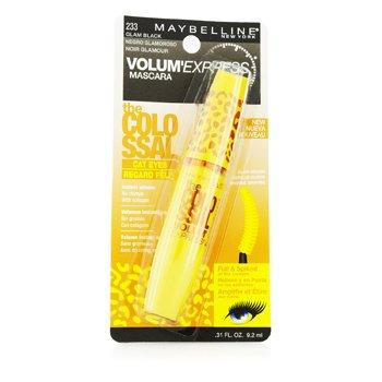 Maybelline 媚比琳 Volum' Express The Colossal Cat Eye Washable Mascara - #Glam Black 9.2ml/0.31oz - 睫毛膏