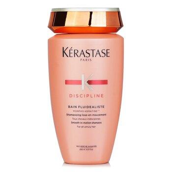 Discipline Bain Fluidealiste Smooth-In-Motion Shampoo (For All Unruly Hair) (250ml/8.5oz)