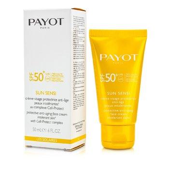 Payot Les Solaires Sun Sensi Защитный Антивозрастной Крем для Лица SPF 50+ 50ml/1.6oz