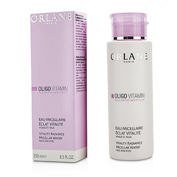 Orlane Oligo Vitamin Восстанавливающая Мицеллярная Вода для Сияния Кожи - для Лица и Глаз 250ml/8.3oz