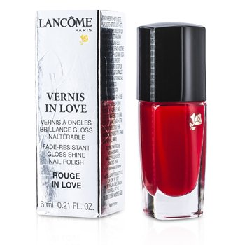 Lancome Vernis In Love Лак для Ногтей - # 112B Rouge In Love 6ml/0.21oz