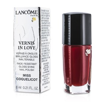 Lancome Vernis In Love Лак для Ногтей - # 154M Miss Coquelicot 6ml/0.21oz