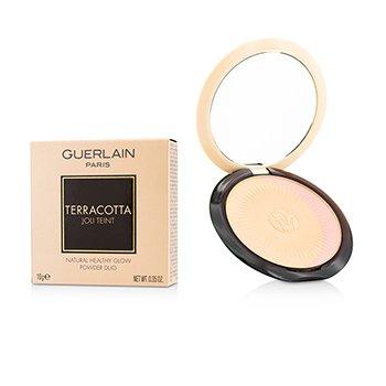 Guerlain Terracotta Joli Teint Natural Healthy Glow Пудра Дуо - # 00 Clair/Light Blondes 10g/0.35oz