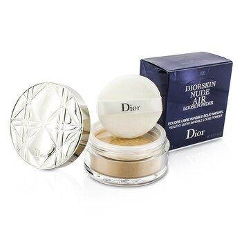 Christian Dior Diorskin Nude Air Healthy Glow Невидимая Рассыпчатая Пудра - # 020 Светлый Беж 16g/0.56oz