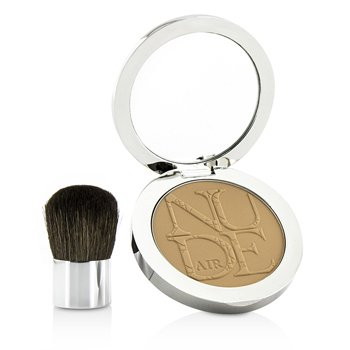 Diorskin Nude Air Healthy Glow Invisible Powder (With Kabuki Brush) - # 030 Medium Beige (10g/0.35oz)