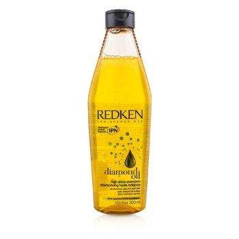 Redken Diamond Oil Шампунь для Сияния (для Тусклых Волос) 300ml/10.1oz