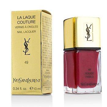 Yves Saint Laurent La Laque Couture Лак для Ногтей - # 49 Rouge Pablo 10ml/0.34oz