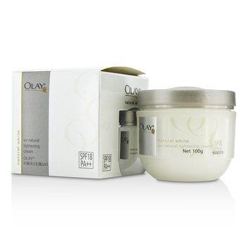 Natural White UV Natural Lightening Cream SPF 18 (100g/3.5oz)