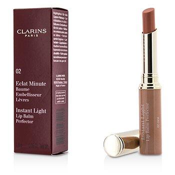 Eclat Minute Instant Light Lip Balm Perfector - # 02 Coral (1.8g/0.06oz)