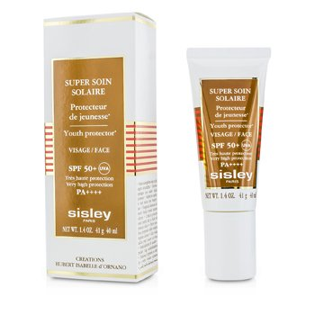 Super Soin Solaire Youth Protector For Face SPF 50+ (40ml/1.4oz)