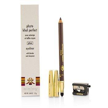 Phyto Khol Perfect Eyeliner (With Blender and Sharpener) - #Plum (1.2g/0.04oz)
