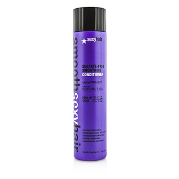 Smooth Sexy Hair Sulfate-Free Smoothing Conditioner (Anti-Frizz) (300ml/10.1oz)