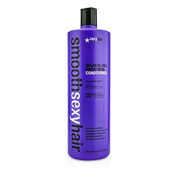 Smooth Sexy Hair Sulfate-Free Smoothing Conditioner (Anti-Frizz) (1000ml/33.8oz)