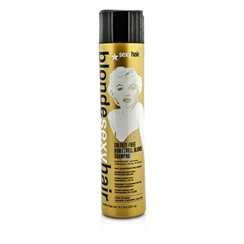 Blonde Sexy Hair Sulfate-Free Bombshell Blonde Shampoo (Daily Color Preserving) (300ml/10.1oz)