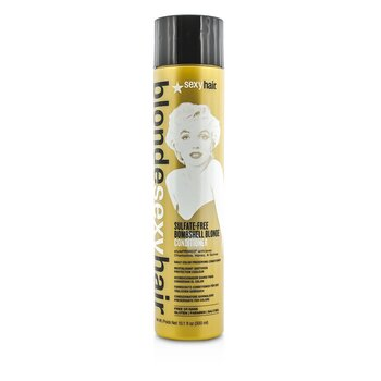 Blonde Sexy Hair Sulfate-Free Bombshell Blonde Conditioner (Daily Color Preserving) (300ml/10.1oz)