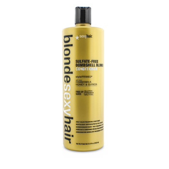 Blonde Sexy Hair Sulfate-Free Bombshell Blonde Conditioner (Daily Color Preserving) (1000ml/33.8oz)