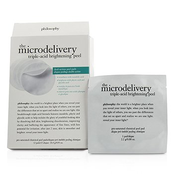 The Microdelivery Triple-Acid Brightening Peel Pads (Box Slightly Damaged) (12pads)