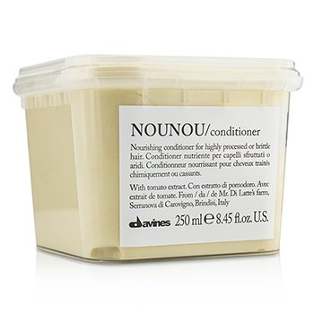 Nounou Nourishing Conditioner (For Highly Processed or Brittle Hair) (250ml/8.45oz)