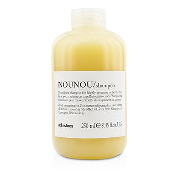 Nounou Nourishing Shampoo (For Highly Processed or Brittle Hair) (250ml/8.45oz)