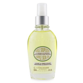 Almond Supple Skin Oil - Smoothing & Beautifying (100ml/3.4oz)