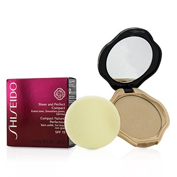 ShiseidoSheer & Perfect Compact Foundation SPF15 - #I40 Natural Fair Ivory 10g/0.35oz