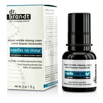 Dr. Brandt Needles No More Мгновенный Расслабляющий Крем против Морщин 15g/0.5oz
