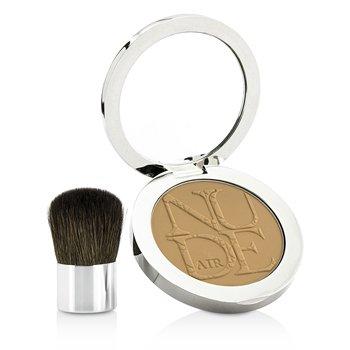 Diorskin Nude Air Healthy Glow Invisible Powder (With Kabuki Brush) - # 040 Honey Beige (10g/0.35oz)