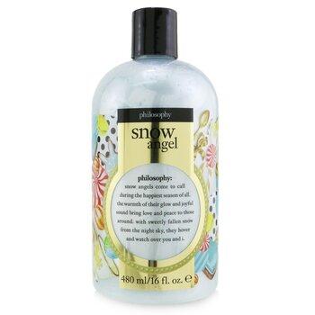 Snow Angel Shampoo, Shower Gel & Bubble Bath (480ml/16oz)