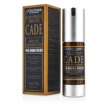 LOccitane Cade For Men Солнцезащитный Увлажняющий Флюид SPF 20 30ml/1oz
