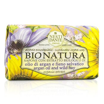 Bio Natura Sustainable Vegetal Soap - Argan Oil & Wild Hay (250g/8.8oz)