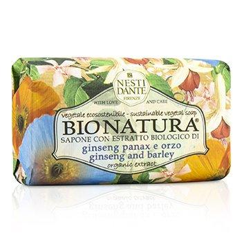 Bio Natura Sustainable Vegetal Soap - Ginseng & Barley (250g/8.8oz)