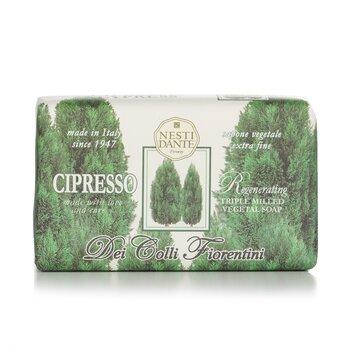Dei Colli Fiorentini Triple Milled Vegetal Soap - Cypress Tree (250g/8.8oz)