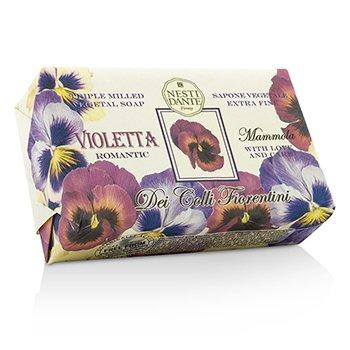 Dei Colli Fiorentini Triple Milled Vegetal Soap - Sweet Violet (250g/8.8oz)