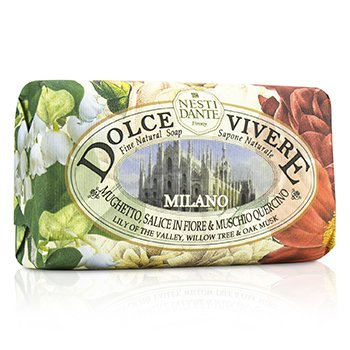 Dolce Vivere Fine Natural Soap - Milano - Lily Of The Valley, Willow Tree & Oak Musk (250g/8.8oz)