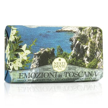 Emozioni In Toscana Natural Soap - Mediterranean Touch (250g/8.8oz)