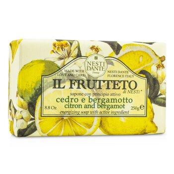Il Frutteto Energizing Soap - Citron & Bergamot (250g/8.8oz)