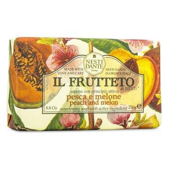 Il Frutteto Sweetening Soap - Peach & Melon (250g/8.8oz)