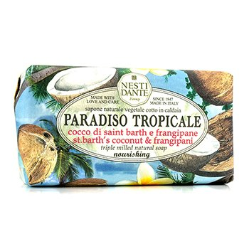 Paradiso Tropicale Triple Milled Natural Soap - St. Barth's Coconut & Frangipani (250g/8.8oz)