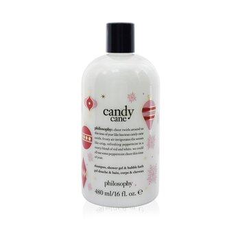 Candy Cane Lane Shampoo, Shower Gel & Bubble Bath (480ml/16oz)