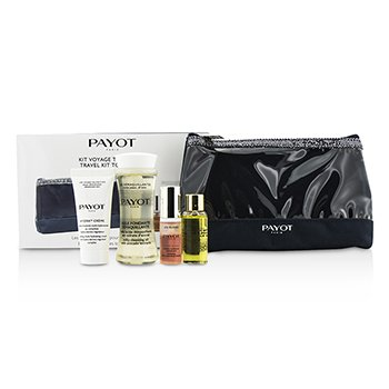 Travel Kit Top To Toe Set: Cleansing Oil 50ml + Cream 15ml + Elixir D'Ean Essence 5ml + Elixir Oil 10ml + Bag (4pcs + 1bag)