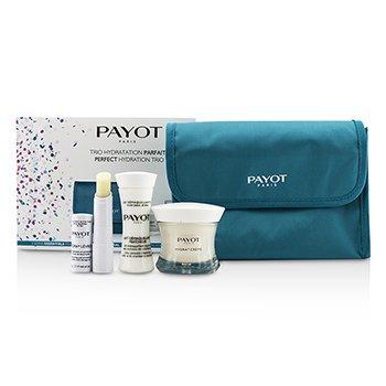 Payot Perfect Hydration Дорожный Набор: Очищающее Молочко 30мл + Крем 50мл + Бальзам для Губ 4г + Сумка 3pcs + 1bag