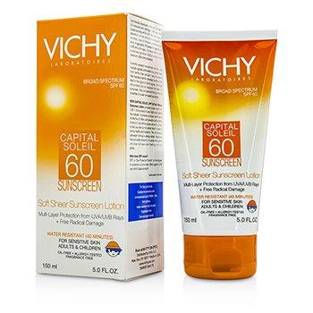 Vichy Capital Soleil Мягкий Солнцезащитный Лосьон для Лица и Тела SPF 60 150ml/5oz