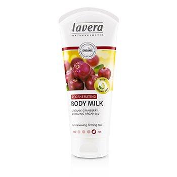 Organic Cranberry & Argan Oil Regenerating Body Milk (200ml/6.6oz)