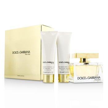 The One Coffret: Eau De Parfum Spray 75ml/2.5oz + Body Lotion 50ml/1.6oz + Shower Gel 50ml/1.6oz (3pcs)