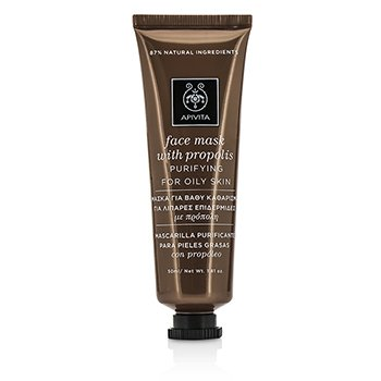 Face Mask with Propolis - Purifying (For Oily Skin) (50ml/1.81oz)