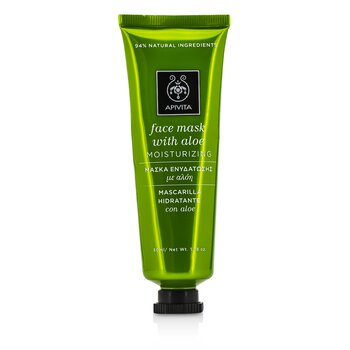 Apivita 艾蜜塔 蘆薈面膜 - 滋潤 Face Mask with Aloe - Moisturizing 50ml/1.78oz - 面膜