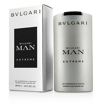 Bvlgari Man Extreme Шампунь и Гель для Душа 200ml/6.8oz