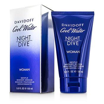 Davidoff Cool Water Night Dive Нежный Гель для Душа 150ml/5oz