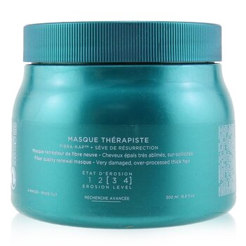 Kerastase Resistance Masque Therapiste Fiber Quality Обновляющая Маска (для Очень Поврежденных, Густых Волос) 500ml/16.9oz