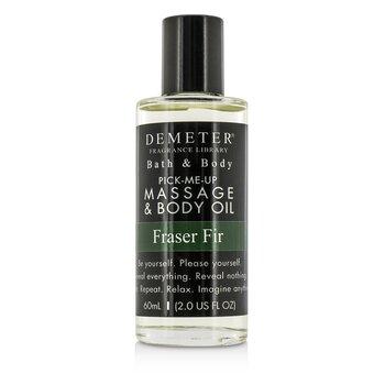 Fraser Fir Massage & Body Oil (60ml/2oz)